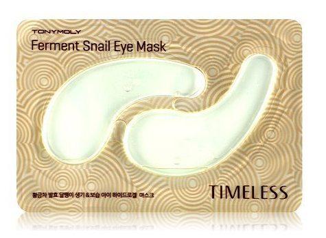 TONYMOLY Маска для области вокруг глаз / Timeless Ferment Snail Eye mask 10 г