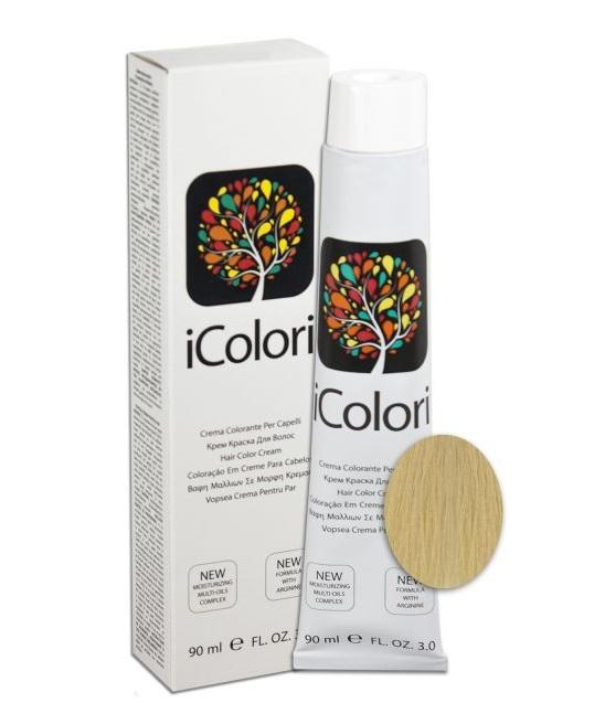 Купить KAYPRO 10.03 краска для волос, золотистый платиновый натуральный теплый / ICOLORI 90 мл
