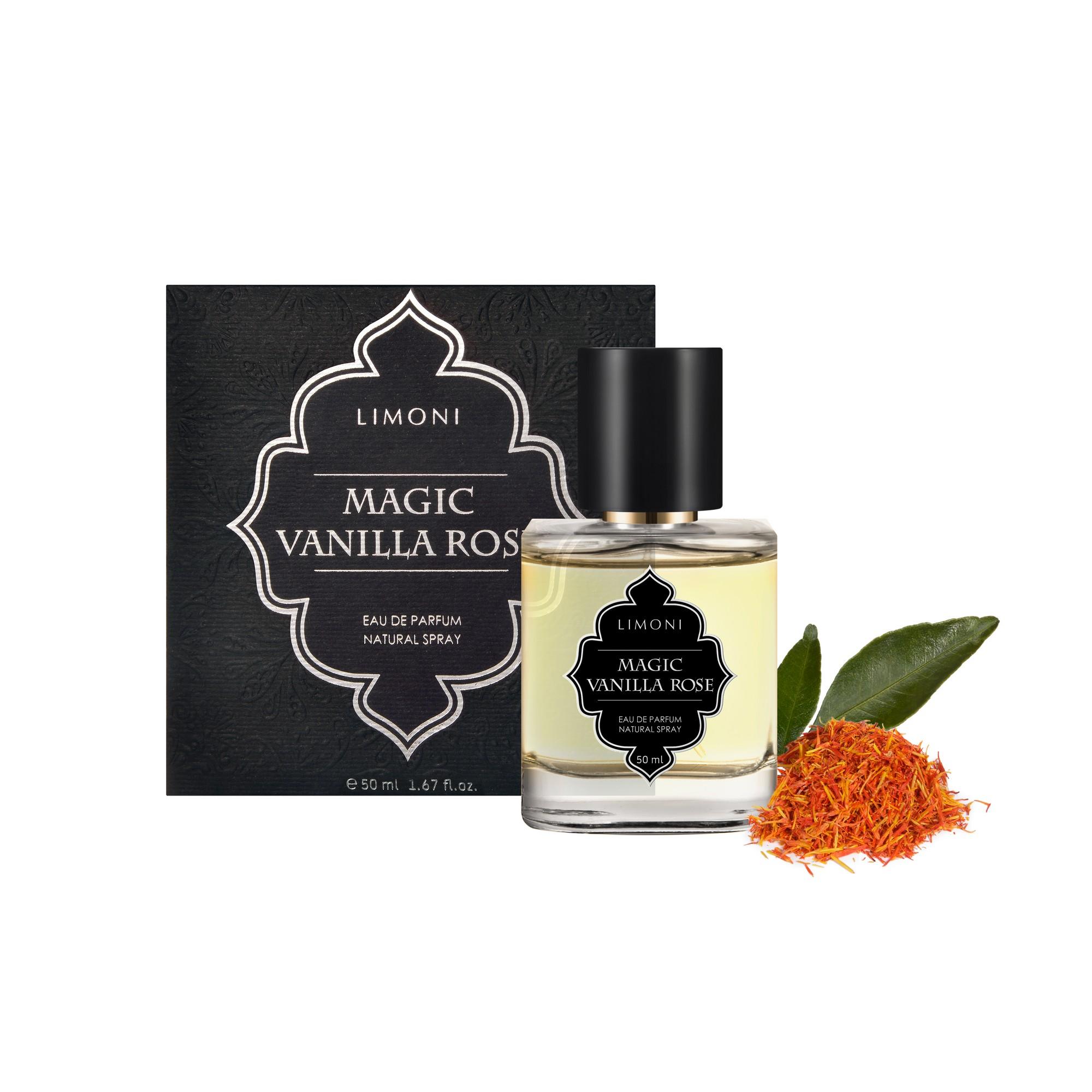 LIMONI Вода парфюмерная Magic Vanilla Rose / LIMONI Eau de Parfum, 50 мл