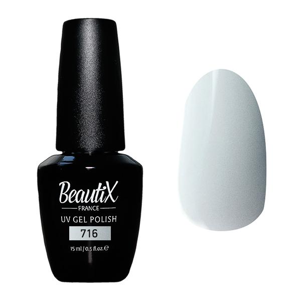 Купить BEAUTIX 716 гель-лак для ногтей 15 мл, Серые