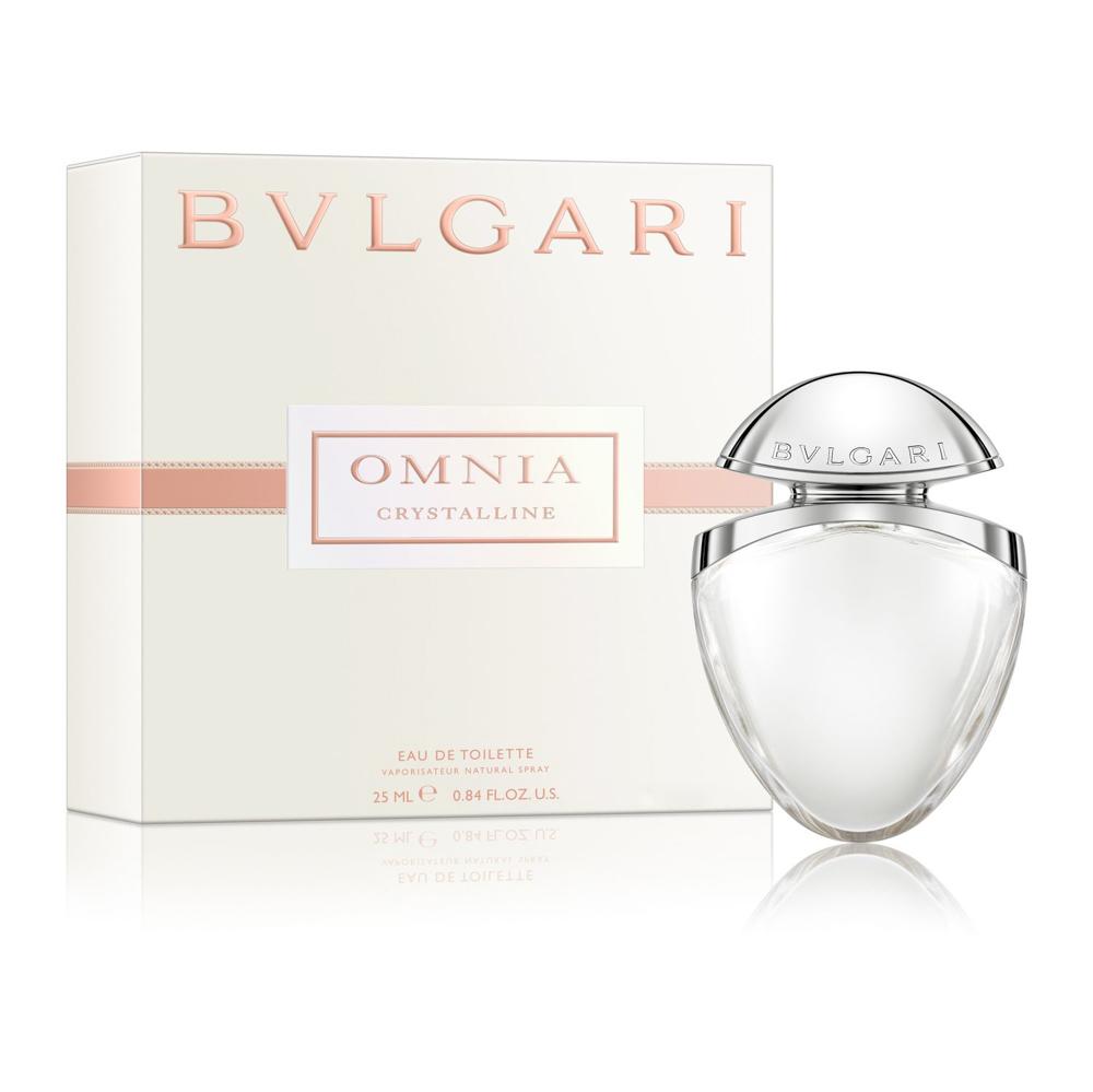 BVLGARI Вода туалетная женская ювелирная коллекция Bvlgari Omnia Crystalline, спрей 25 мл