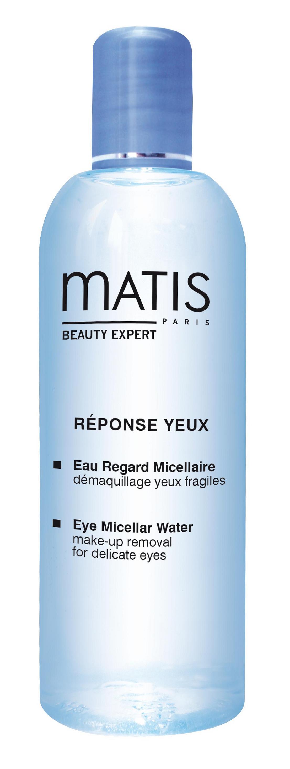 MATIS Вода мицеллярная очищающая с экстрактом чая матча для нежной кожи вокруг глаз 150 мл