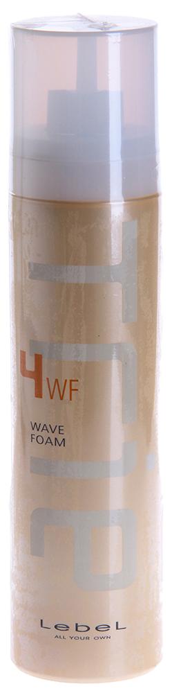 LEBEL Пена для укладки / Trie WAVE FOAM 4 200грПенки<br>Придает волосам эластичность и природную мягкость. Идеально подходит для создания легких воздушных локонов и повседневных укладок. Создает эффект мокрых волос. Препятствует впитыванию посторонних запахов. Защищает волосы от агрессивных факторов окружающей среды и термического воздействия. Аромат: Framboise - малина и La France - груша. SPF 15.  Способ применения: Нанести небольшое количество пены на влажные волосы. Приступить к укладке.<br>