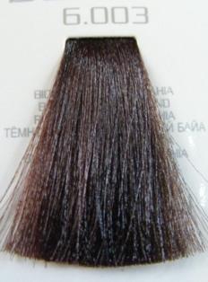 HAIR COMPANY 6.003 краска для волос / HAIR LIGHT CREMA COLORANTE 100млКраски<br>Профессиональная стойкая крем-краска для волос. Результат последних разработок ведущих специалистов и продукт высоких технологий. Профессиональная стойкая крем-краска Hair Light Crema Colorante богата натуральными ингредиентами и, в особенности, эксклюзивным мультивитаминным восстанавливающим комплексом. Новейший химический состав (с минимальным содержанием аммиака) гарантирует максимально бережное отношение к структуре волос. Применение исключительно активных ингредиентов и пигментов высочайшего качества гарантирует получение однородного и стойкого цвета, интенсивных и блестящих, искрящихся оттенков, кроме того, дает полное покрытие (прокрашивание) седых волос. Тона профессиональной стойкой крем-краски Hair Light Crema Colorante дают возможность парикмахеру гибко реагировать на любые требования, предъявляемые к окраске волос. Наличие 5 микстонов и нейтрального (бесцветного) микстона, позволяет достигать результатов окраски самого высокого уровня. Применение: Смешать Hair Light Crema Colorante с Hair Light Emulsione Ossidante в пропорции 1:1,5. Время воздействия 30-45 мин.<br><br>Цвет: Корректоры и другие<br>Объем: 100<br>Вид средства для волос: Стойкая<br>Класс косметики: Профессиональная