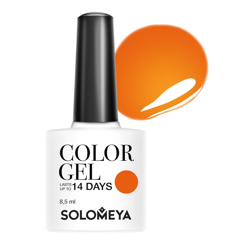 SOLOMEYA Гель-лак для ногтей 116 Сладкая тыква / Color Gel Sweet pumpkin 8,5 мл