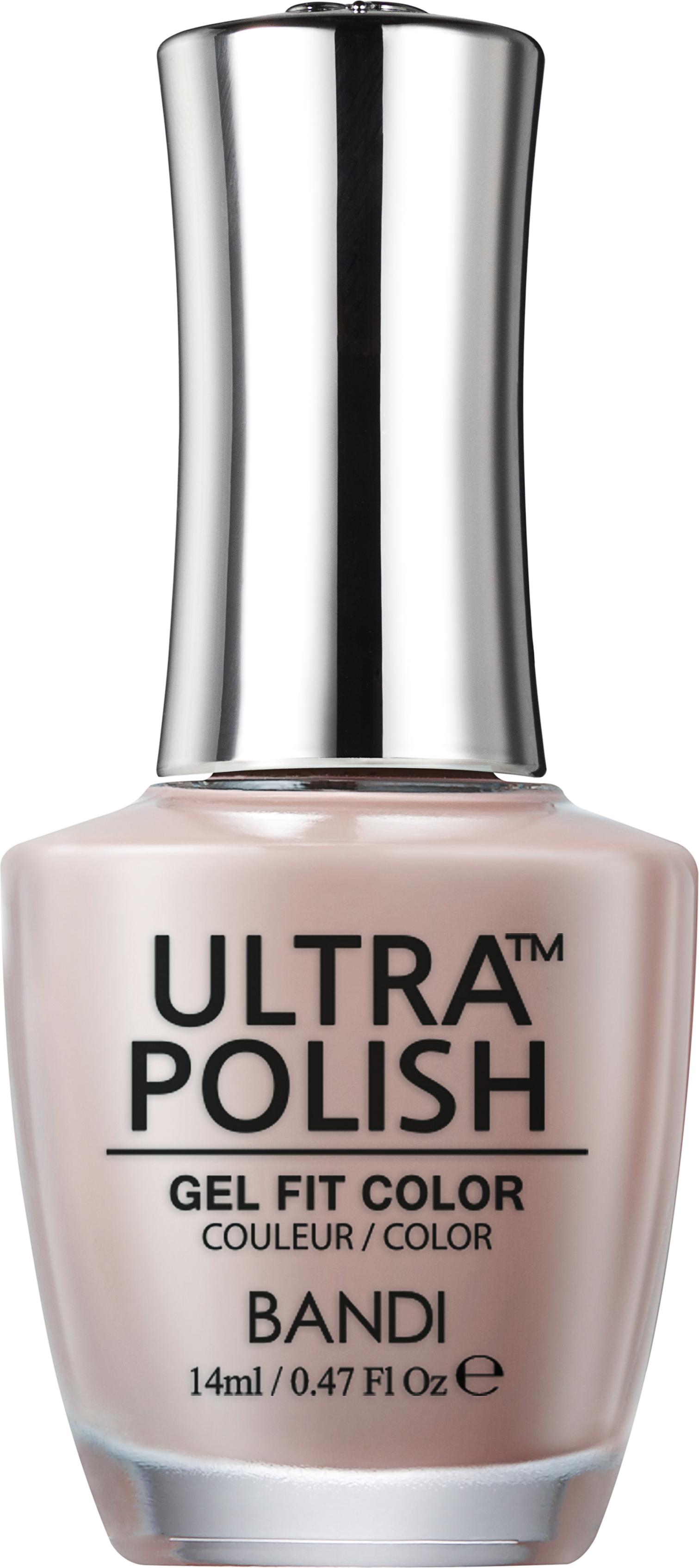 Купить BANDI UP204 ультра-покрытие долговременное цветное для ногтей / ULTRA POLISH GEL FIT COLOR 14 мл, Коричневые