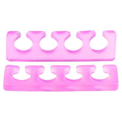 IRISK PROFESSIONAL Расширитель силиконовый для пальцев, 02 прозрачно-малиновый 2 шт