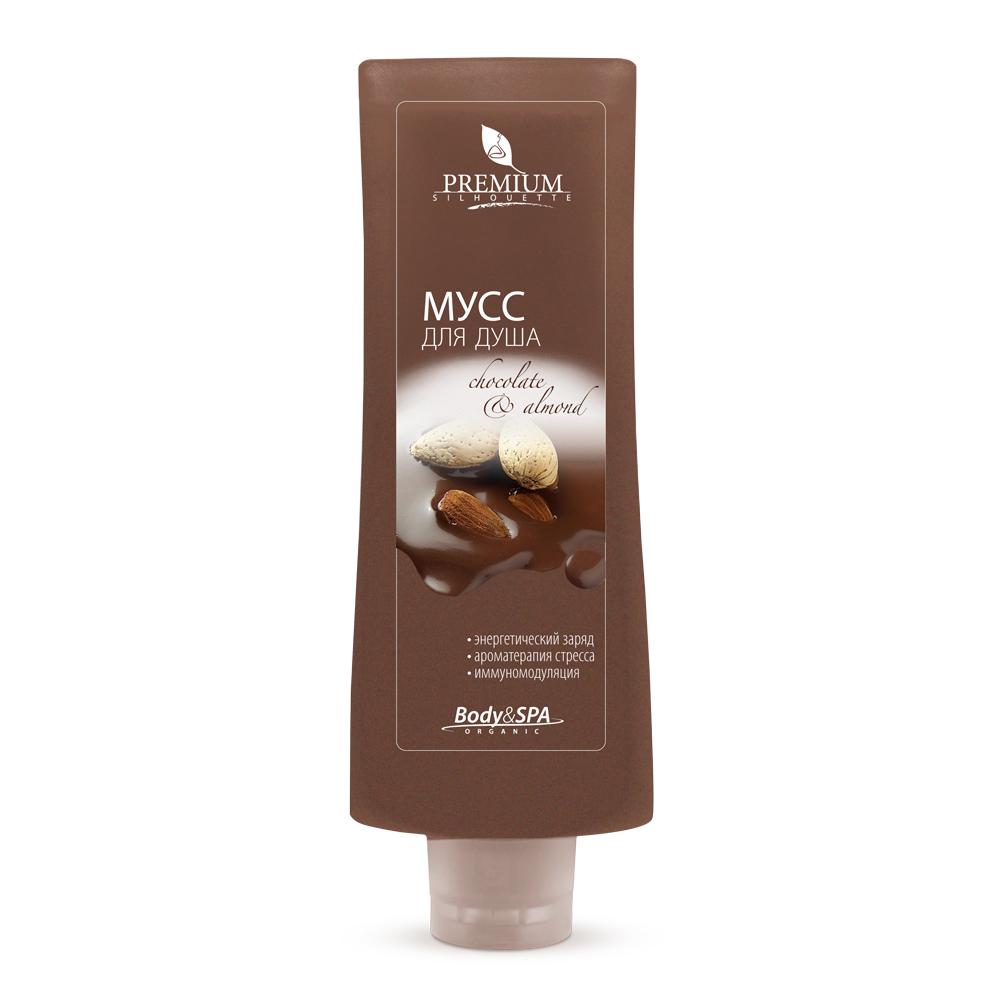 PREMIUM Мусс для душа Chokolate & Almond / Silhouette 200мл