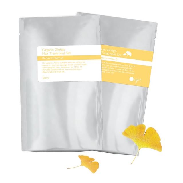 ORIGHT Набор для восстановления волос Гингко (восстанавливающий крем А 50 мл, органическая эссенция В 30 мл) / Organic Gingko