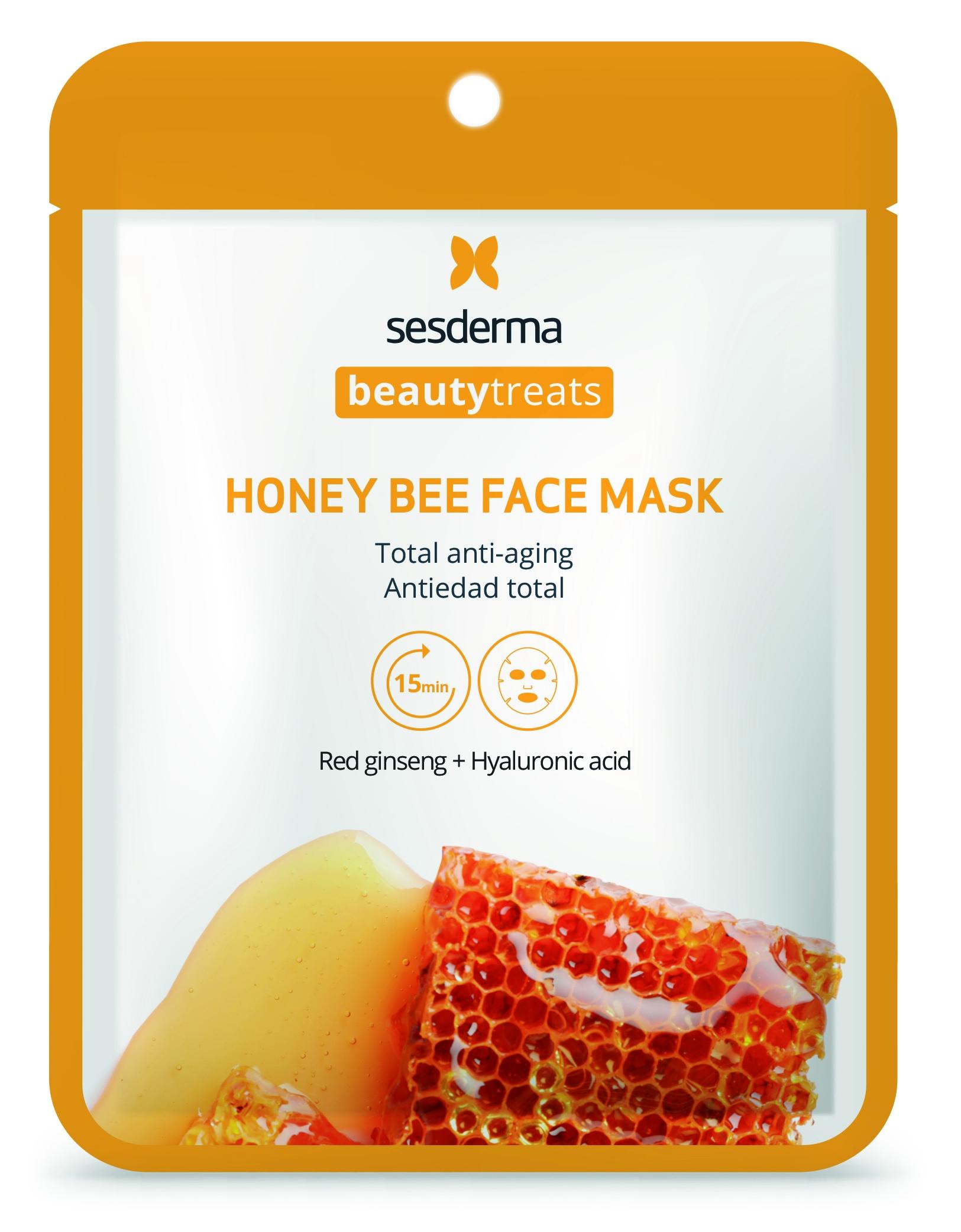 Купить SESDERMA Маска антивозрастная для лица / BEAUTY TREATS Honey bee face mask 22 мл