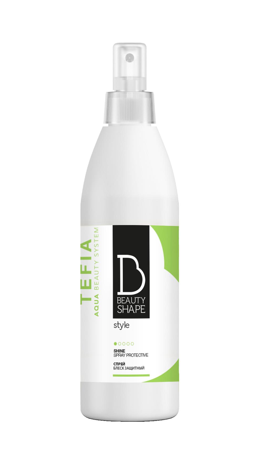 TEFIA Спрей-блеск защитный / Beauty Shape Style 250 мл