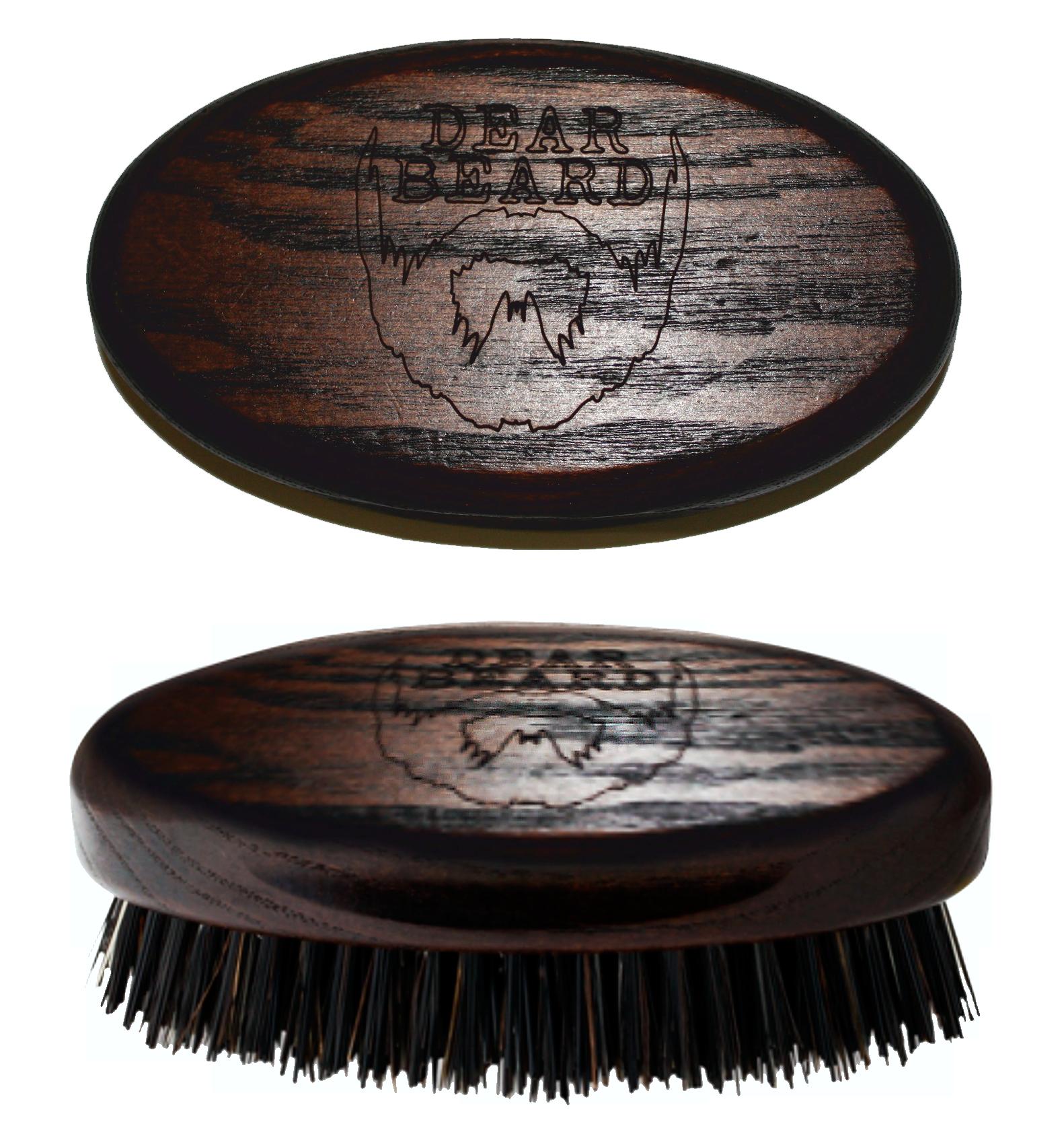 DEAR BEARD Щетка из древесины венге для усов и бороды 8*4 см dear beard щетка из древесины венге для усов и бороды 8 4 см