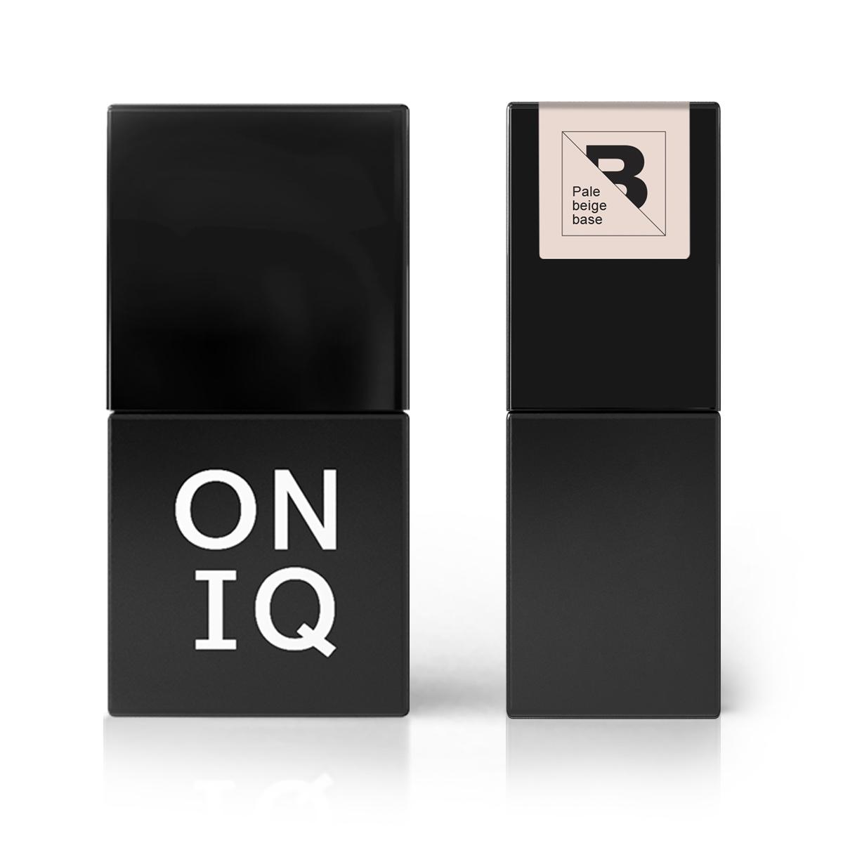 Купить ONIQ Покрытие базовое, бледно-бежевое / Pale beige base 10 мл
