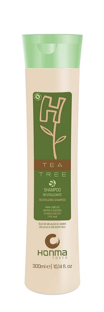Купить HONMA TOKYO Шампунь ревитализирующий для комбинированных волос / H-tea Tree 300 мл