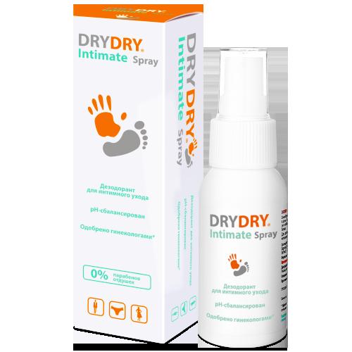 DRY DRY Средство косметическое для интимной гигиены / Intimate Spray 50 мл фото