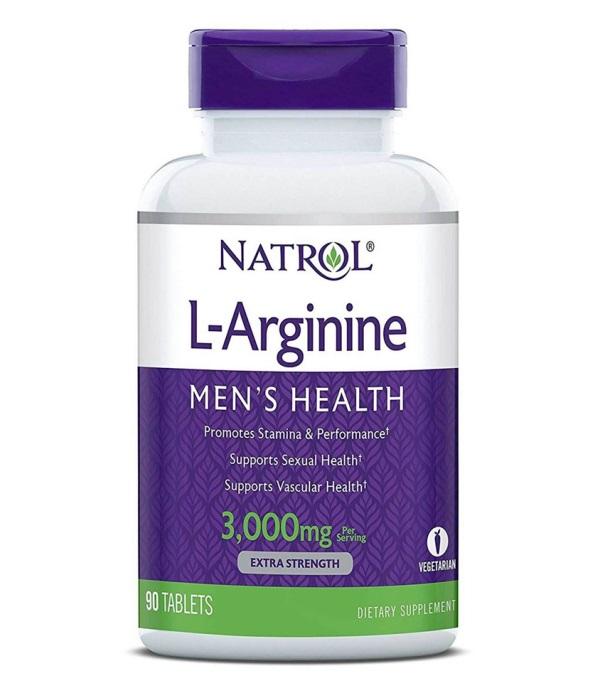 Купить NATROL Добавка биологически активная к пище Натрол L-Аргинин / L-Arginine 3000 мг 90 таблеток