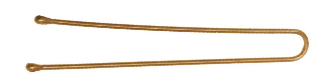 DEWAL PROFESSIONAL Шпильки золотистые, прямые 45 мм, 200 г (в коробке)