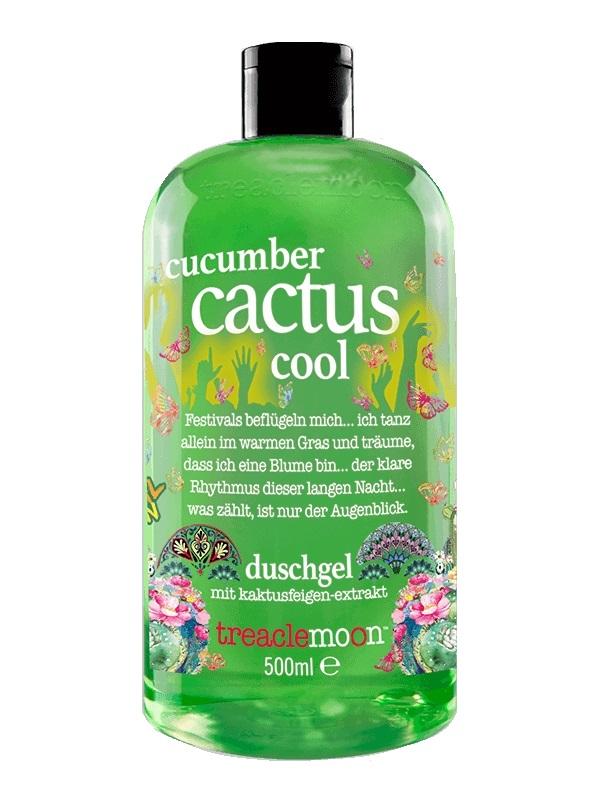 Купить TREACLEMOON ГельдлядушаОсвежающийкактус / Cucumber cactus cool Bath shower gel 500мл