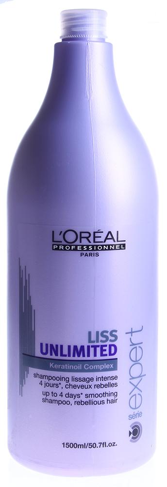 LOREAL PROFESSIONNEL Шампунь для непослушных волос / ЛИСС АНЛИМИТЕД 1500мл