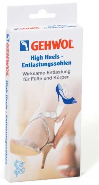 GEHWOL Вкладыш для обуви на высоком каблуке S 2штОртопедические приспособления<br>Вкладыш перераспределяет нагрузку и снимает напряжение при ходьбе. При ношении обуви на каблуке высотой больше 7,5 см 75% веса тела переносится на передний отдел стопы и 25% &amp;ndash; на пятку. Это приводит к неприятным ощущениям в стопе и пояснице.   Способ применения: Обратите внимание на стельку в Вашей обуви - её поверхность должна быть гладкой. Вкладыш не предназначен для лечения заболеваний стопы и не служит заменой ортопедических стелек, изготовленных по индивидуальному заказу. Вкладыши предназначены только для одной пары обуви.<br><br>Назначение: Варикоз