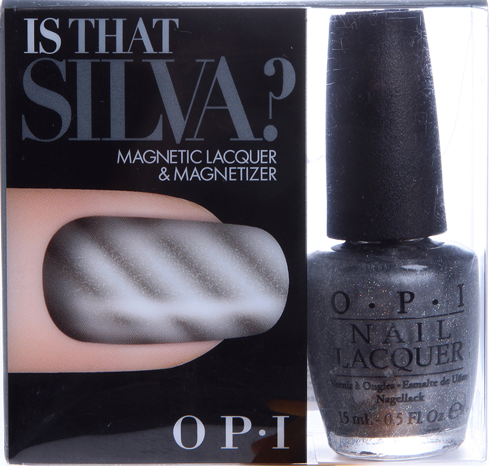 "OPI ����� ����� ""Is that Silva?"" / HOLIDAY SKYFALL MAGNETIC"
