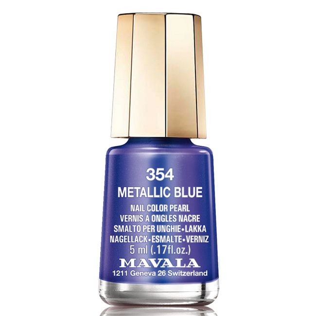 "MAVALA ��� ��� ������ ���� ""����� �������"" / Metallic Blue 5��"