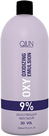 Ollin professional эмульсия окисляющая 9% (30vol) / oxidizing emulsion ollin performance oxy 1000 мл