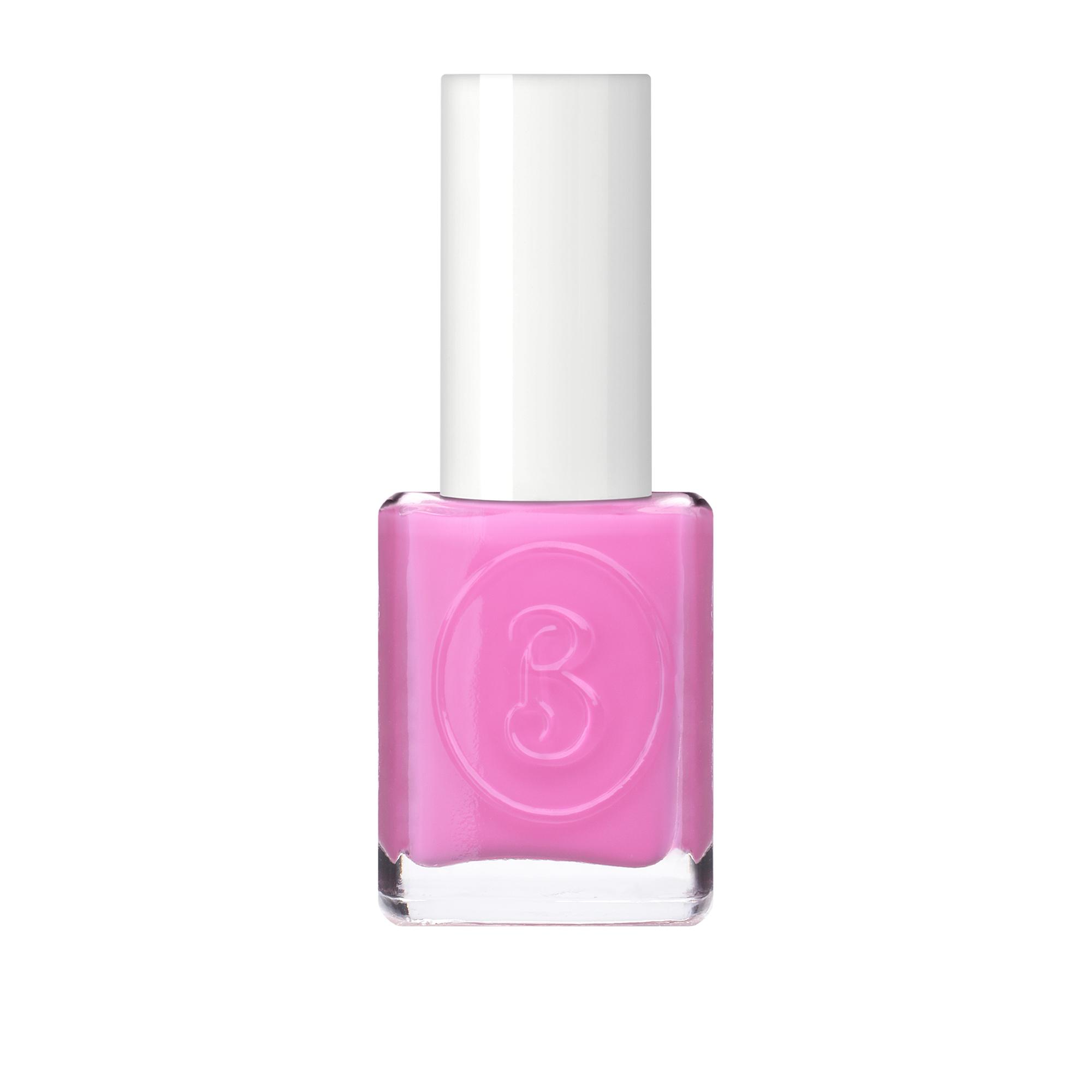 dark pink nail polish -