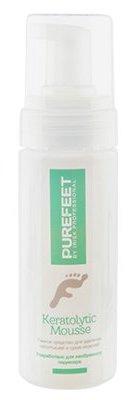 Купить IRISK PROFESSIONAL Средство пенное для удаления натоптышей и мозолей / PureFeet Keratolytic Mousse 150 мл