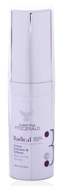 Купить CHRISTINA FITZGERALD Гель-эксфолиант смягчающий для кутикулы / Cuticle Exfoliator & Softener RADICAL 15 мл