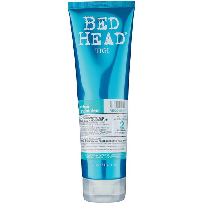 TIGI Шампунь для поврежденных волос уровень 2 / BED HEAD Urban Anti+dotes Recovery, 250 мл
