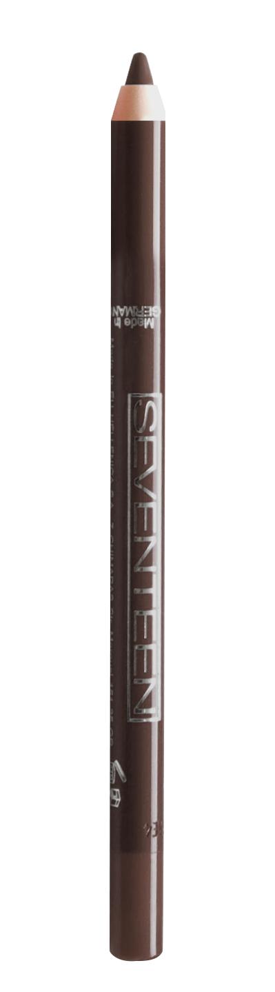 SEVENTEEN Карандаш водостойкий с витамином Е для век, 05 коричневый / Super Smooth W/P & Longstay 1,2 г