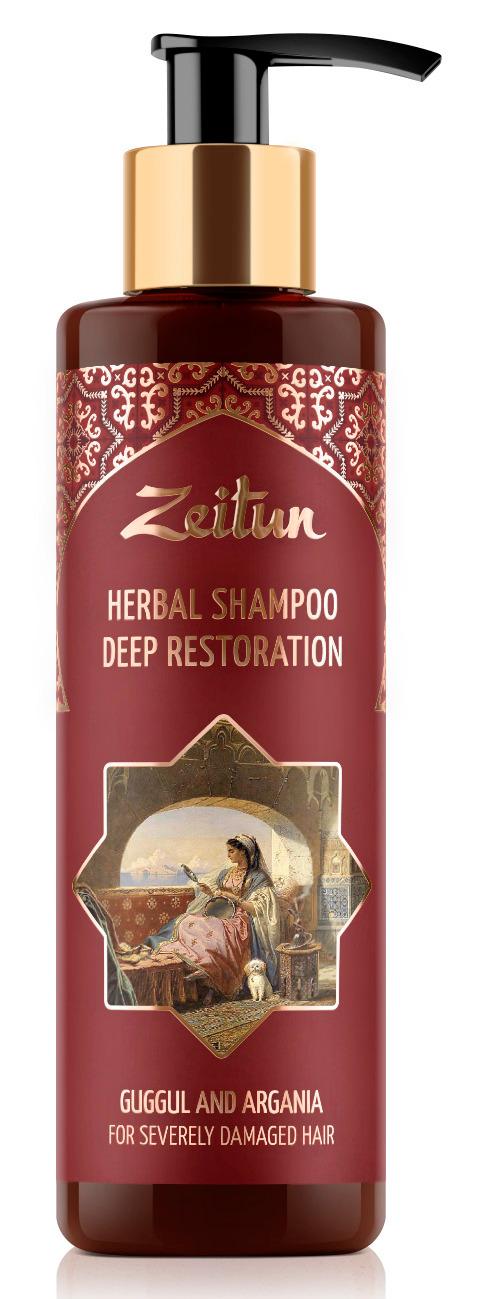 Купить ZEITUN Фито-шампунь глубоко восстанавливающий для сильно поврежденных волос 200 мл