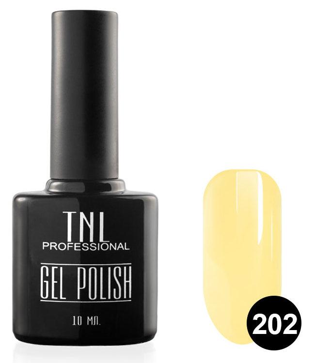 TNL PROFESSIONAL 202 гель-лак для ногтей, сливочное масло 10 мл