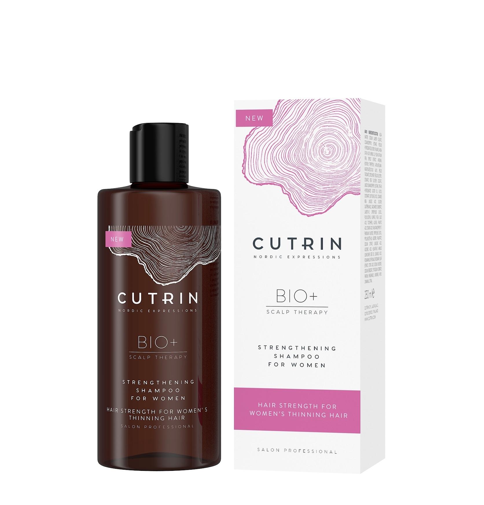 Купить CUTRIN Шампунь-бустер для укрепления волос для женщин / BIO+ STRENGTHENING 250 мл