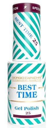 GIORGIO CAPACHINI 25 гель-лак трехфазный для ногтей / BEST TIME 8 мл.