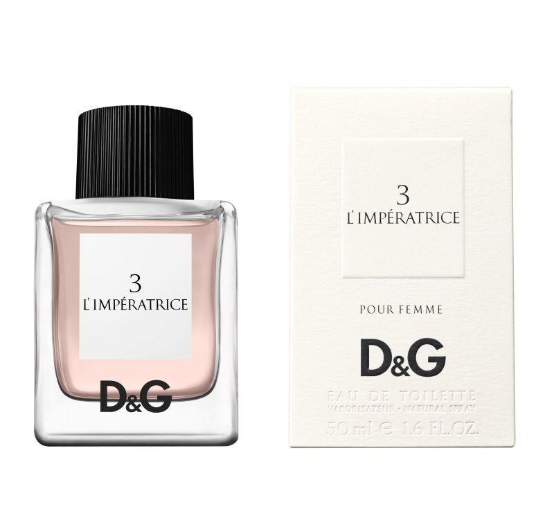 Купить DOLCE&GABBANA Вода туалетная женская Dolce&Gabbana 3-l`imperatrice 50 мл