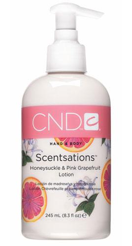 CND Лосьон для рук и тела Грейпфрут & Жимолость / SCENTSATIONS 245 мл cnd лосьон для рук и тела грейпфрут