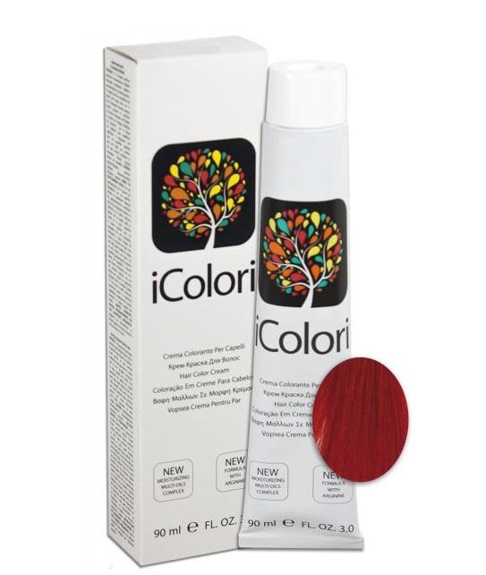 KAYPRO 7.666 краска для волос, блондин красный экстра интенсивный / ICOLORI 90 мл фото
