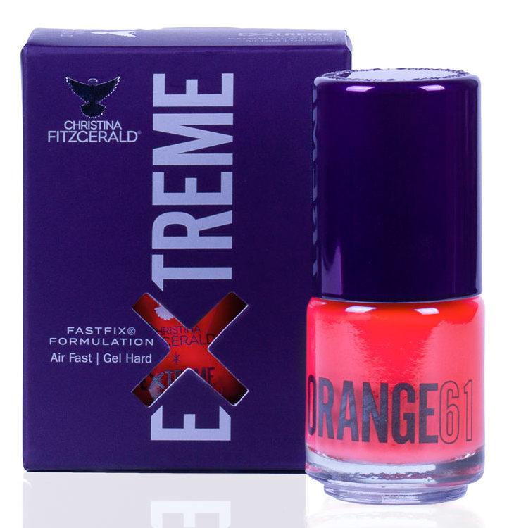 Купить CHRISTINA FITZGERALD Лак для ногтей 61 / ORANGE EXTREME 15 мл, Оранжевые