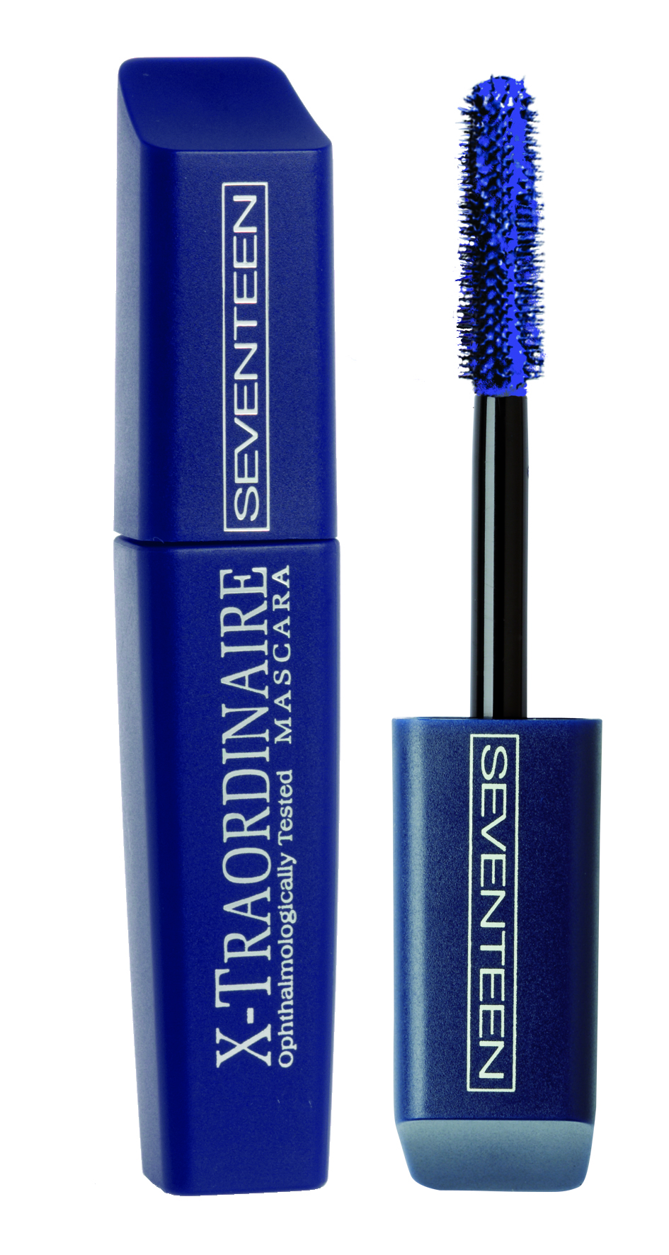 SEVENTEEN Тушь удлиняющая подкручивающая объемная для ресниц, 07 синяя / X-Traordinare Mascara 12 г