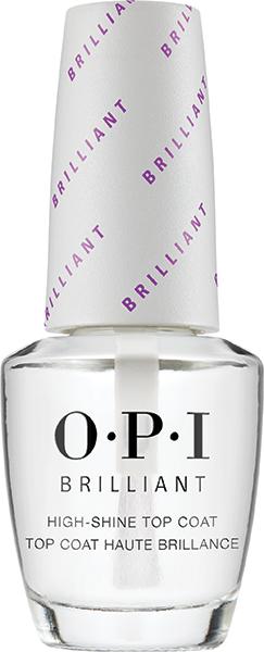 OPI Покрытие верхнее с бриллиантовым блеском / OPI Plumping Top Coat 15млВерхние покрытия<br>Бриллиантовое верхнее покрытие выводит маникюр и педикюр на невиданный уровень блеска. Долгий эффект: предотвращает сколы и удлиняет срок носки покрытия. Запечатывает и защищает цвет покрытия, предотвращает его выцветание, скрывает  полосатость  нанесения. Блокировка УФ-лучей: предотвращает пожелтение ногтей и образование пятен и полос.<br><br>Виды лака: Глянцевые