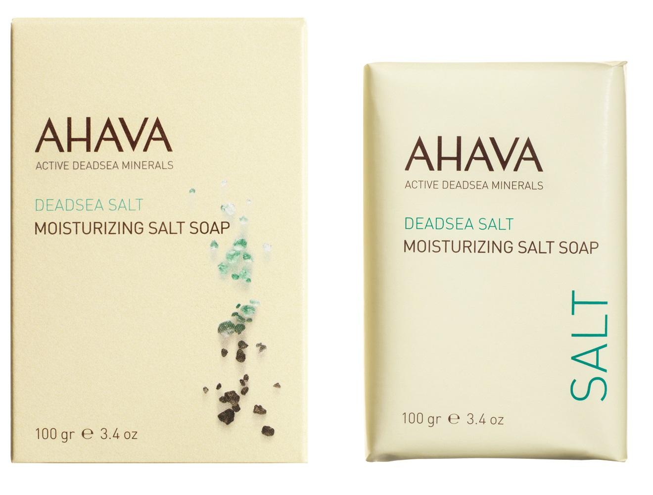 AHAVA Мыло на основе соли мертвого моря / Deadsea Salt 100 г -  Мыла