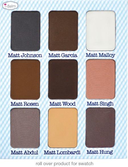 THE BALM Палетка теней / Meet Matt(e) NudeТени<br>Палетка для макияжа Meet Matt(e) Nude  Nude Matte Eyeshadow Palette. Палитра для макияжа. 9 классических оттенков матовых теней на все случаи жизни. Способ применения: текстура и концентрация пигмента позволяет использовать продукт: как тени для век для разных целей в макияже, в качестве подводки с помощью специальной кисти со скошенным краем 800538 Brush- Woman Empowderment /Eye Believe.<br>