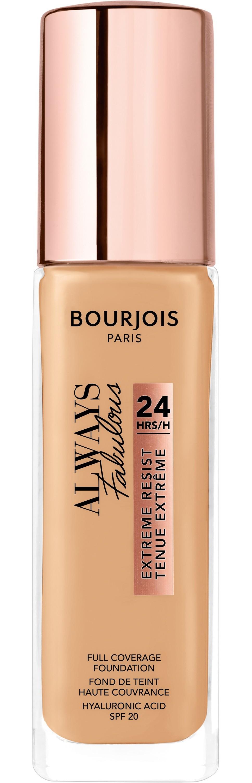 Купить BOURJOIS Крем тональный для лица 125 / Always Fabulous Full Coverage Foundation 30 мл