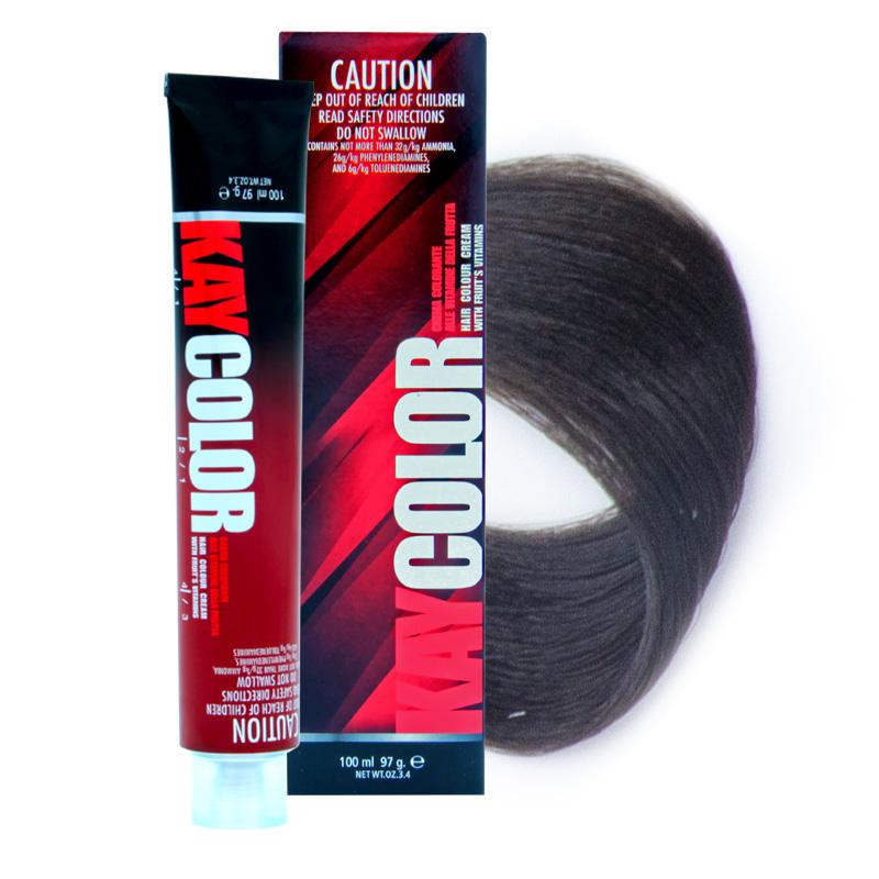 KAYPRO 4.0 краска для волос, интенсивный коричневый / KAY COLOR 100 мл фото