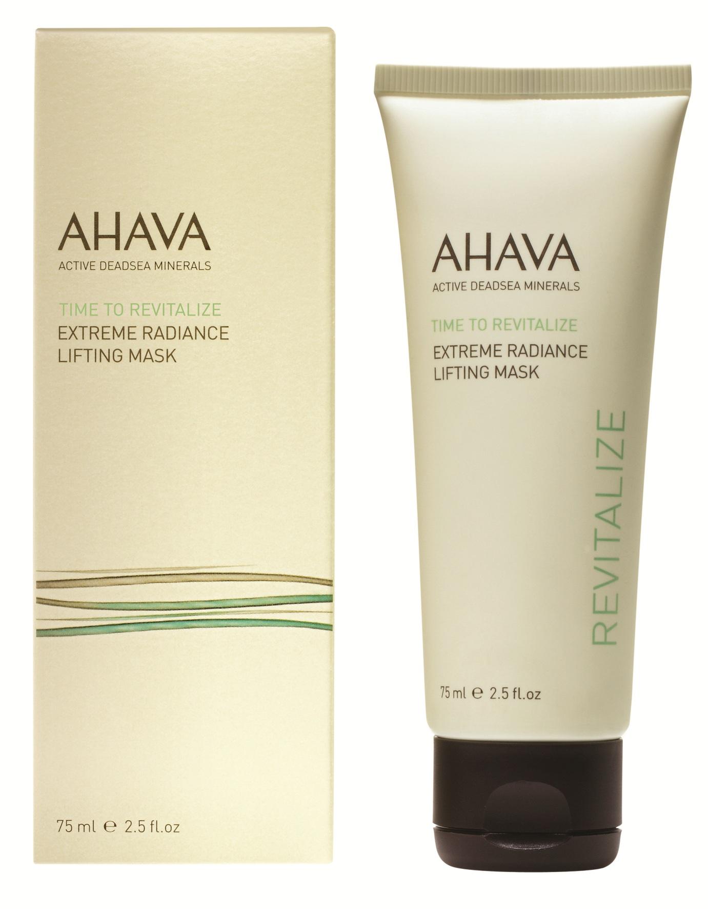 AHAVA Маска с эффектом сияния для подтяжки кожи лица / Extreme Mask Time To Revitalize 75 мл