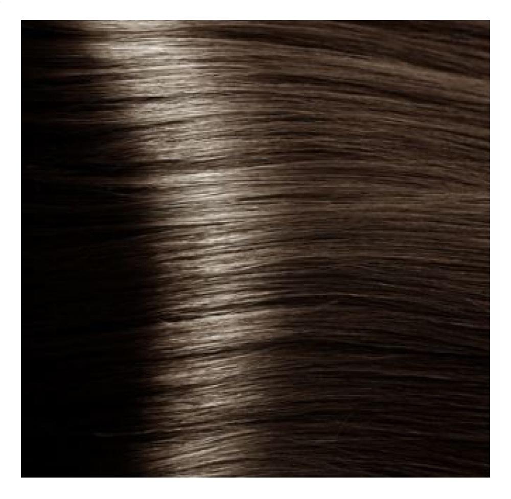 Купить KAPOUS HY 6.757 краска для волос, темный блондин пралине / Hyaluronic Acid 100 мл