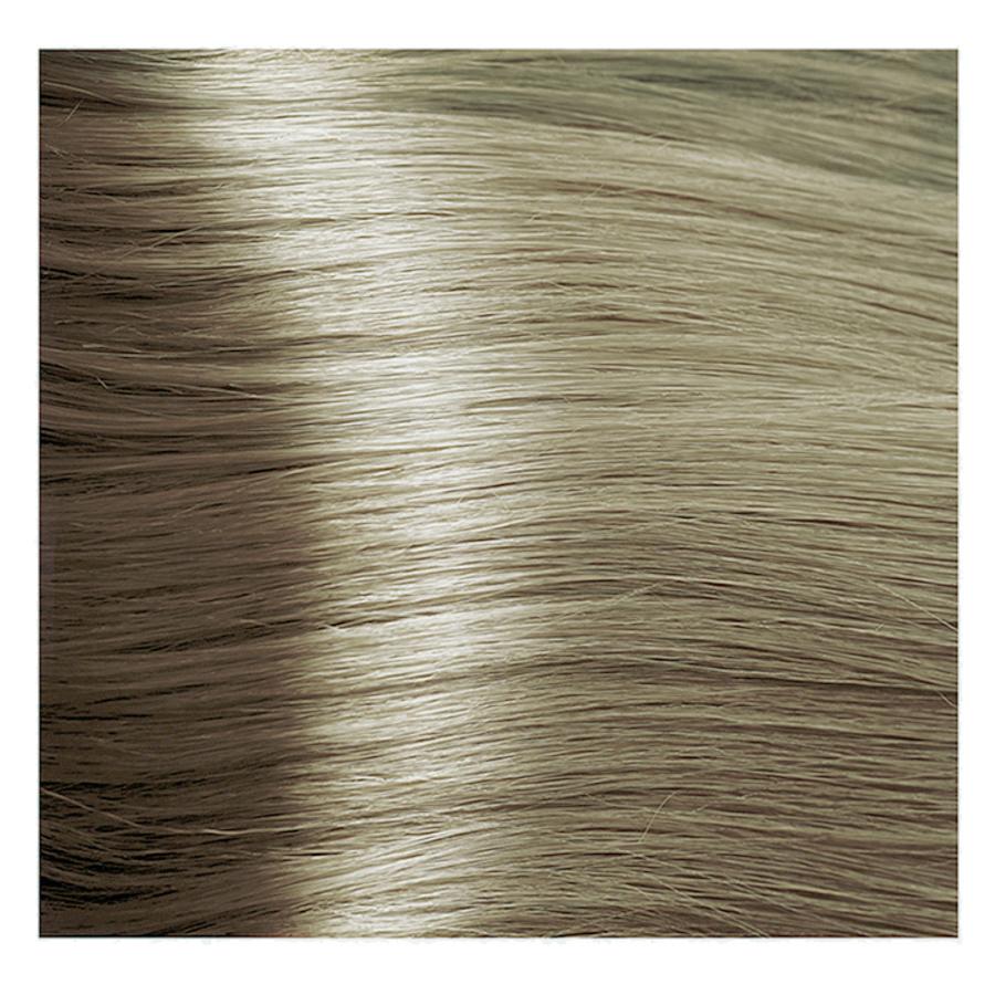 KAPOUS 9.00 крем-краска для волос / Hyaluronic acid 100млКраски<br>Очень светлый блондин интенсивный Новая революционная формула красителя включает в состав низкомолекулярную гиалуроновую кислоту и инновационный ухаживающий комплекс, которые обеспечивают максимальное увлажнение, сохранение и восстановление структуры волос при окрашивании. Гиалуроновая кислота выполняет функцию межклеточного «цемента» заполняя клеточный матрикс волос. Обладает способностью притягивать огромное количество молекул воды, тем самым максимально увлажняя волосы в процессе окрашивания, так же она является отличным проводником для микропигментов красителя. Креатин – это аминокислота, которая является строительным материалам для поврежденных участков кортекса и кутикулы волос. Укрепляет, восстанавливает и защищает волосы в процессе окрашивания. Пантенол – провитамин В5, помогает восстановить поврежденные участки волосы после окрашивания заполняя все участки, делая его гладким. Обволакивает каждый волос пленкой, которая добавляет до 10%-20% объема (диаметра волос). После многочисленных исследований специалистами лаборатории был создан уникальный по своему действию комплекс: HAPS (Hyaluronic Acid Pigments System), который был взят за основу нового красителя. Состав: AQUA (WATER), CETEARYL ALCOHOL, PROPYLENE GLYCOL, OLEYL ALCOHOL, OLEIC ACID, CETEARETH-30, CETEARETH-3, ETHANOLAMINE, SORBITOL, CETEARETH-20, AMMONIA, SODIUM LAURYL SULFATE, GLYCERYL STEARATE, POLYQUATERNIUM-22, BEHENTRIMONIUM CHLORIDE, HYDROXYPROPYL GUAR HYDROXYPROPYLTRIMONIUM CHLORIDE, TETRASODIUM EDTA, ASCORBIC ACID, SODIUM METABISULFITE, CREATINE, PALMITOYL MYRISTYL SERINATE, GLYCERIN, PEG-8/SMDI COPOLYMER, PEG-8, SODIUM POLYACRYLATE, PANTHENOL, LECITHIN, HYDROLYZED SILK, SODIUM HYALURONATE, CYSTINE BIS-PG-PROPYL SILANETRIOL, PARFUM (FRAGRANCE) METHYLCHLOROISOTHIAZOLINONE, METHYLISOTHIAZOLINONE, MAGNESIUM CHLORIDE, MAGNESIUM NITRATE, CITRONELLOL, GERANIOL +/- P-PHENYLENEDIAMINE, 1,5-NAPHTHALENEDIOL, 1-HYDROXYETHYL 4,5-DIAMINO PY