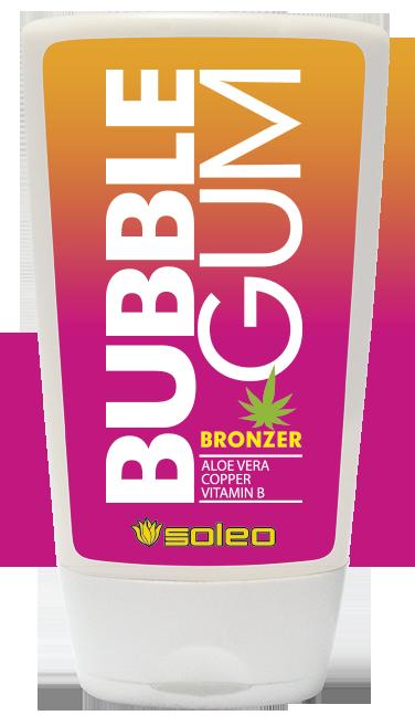Купить SOLEO Бронзатор с алоэ, медью и витамином В / Bubble Gum Basic 100 мл